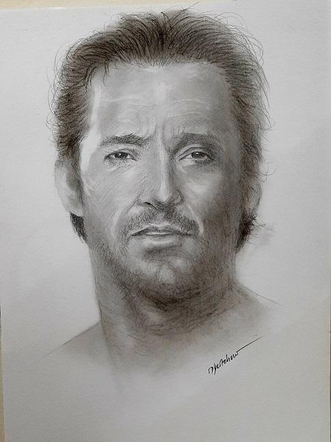 Hugh Jackman by Bobchew